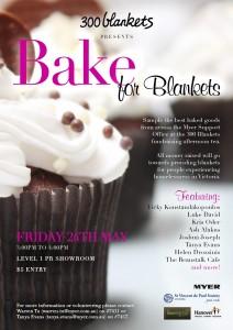 300 Blankets presents Bake for Blankets